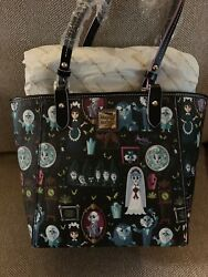 Disney Dooney & Bourke Haunted Mansion Tote NWT Released 2018