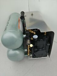York Portable Air Compressor. 300PSI25CFM Hook-Up to battery