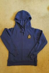Florence and Fred Navy Blue Emblem Hoodie Size 12 GBP 1.99