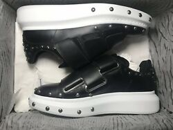 Alexander McQueen Black And White With nails oversized sneaker Size 8(41)