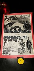 Rare Us Imperialists Get Out Of Vietnam Propaganda Poster 7 China 1965 Pow
