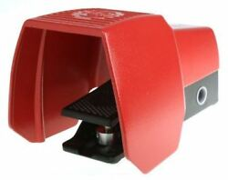 606 Series Emergency Stop Foot Switch with Cover 1 Pedal Momentary Contacts 2