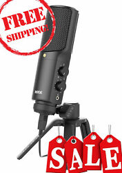 Rode NT USB USB Condenser Ultra Low Noise High Quality Studio Microphone