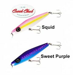 2 Creek Chub Surfster 4 Oz Saltwater Freshwater Lures Bass Pike Sea Lures