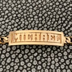 Custom Name Dog Tags With Birthday and Birthstones- 14 K White Gold