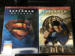 Superman Returns DVD Lenticular Slipcover Target Exclusive