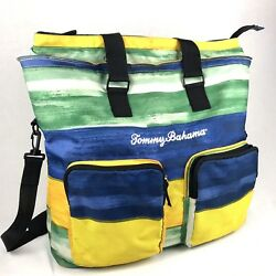 """Tommy Bahama Insulated Cooler Tote Bag Picnic Beach Vacation Large 20""""x 5""""x 16"""""""
