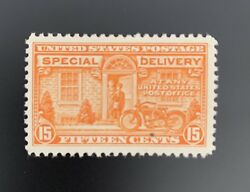 1925 U.s. Scott E13 Fifteen Cent Special Delivery Stamp Mint Hinged