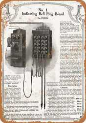 Metal Sign - 1917 Sears Telephone Operator Switchboard - Vintage Look Repro