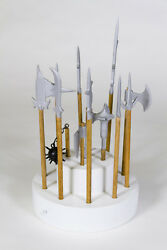 Hand Made Miniature Wooden Medieval Weapons