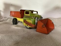 Early Wyandotte Toys Dodge Cab Front Loader Dump Truck 40and039s V Rare
