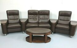 Ekornes Stressless Leather Reclining 4 Seater