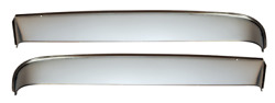 1951-1955 Chevy Gmc Truck Front Window Shade Kit 1st Series