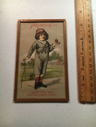 Boraxine Jd Larkin And Co 1882 Advertisement Card Framed Sold By Disney