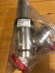 Applied Materials Amat 3870-02826, Nor-cal Nw50, Nw25 Vacuum Valve