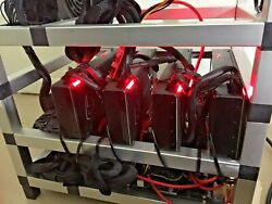 5X Vega 56 Cryptocurrency Miner Beast Like New FREE ITEMS bundled