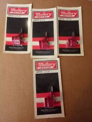 Mallory Distributor Rotor 319; Brass Contact Red. Lotbof 4