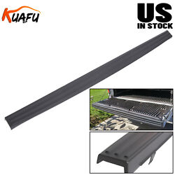 For 2009-2014 Ford F150 Tailgate Top Protector Spoiler Cover Moulding Cap Black