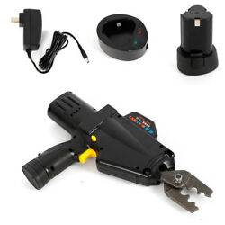 Battery Powered Crimping Tool Crimper for Wire Terminals Connectors Contractors