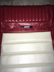 Bucket Seat Pony Upholstery Red And White 1966 Mustang Coupe Brand New
