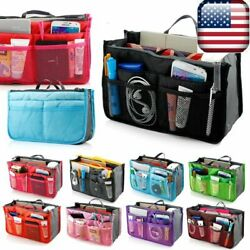 Travel Makeup Cosmetic Bag Case Toiletry Beauty Organizer Zipper Holder Handbag $4.99