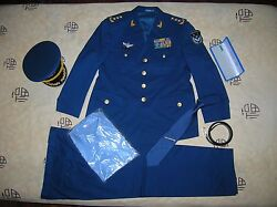 Obsolete 07and039s Series China Pla Air Force 3 Stars Man General Uniformset