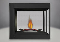 Napoleon Ascent BHD4PGN Multi View Direct Vent Gas Fireplace Modern CRUSH GLASS