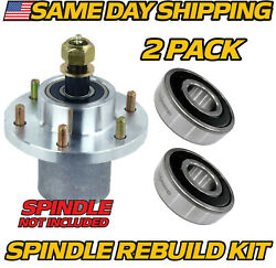 2 Pk Spindle Rebuild Bearings Replaces John Deere Tca20480 Wh48a Wh52a Wh61a