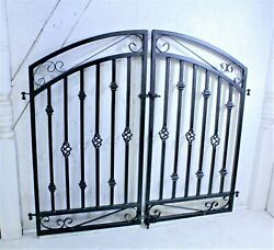 4and039t X 5and039w Donovan Double Swing Iron Gate - Entry Gate Ships Free