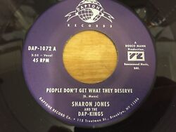Sharon Jones People Donand039t Get What They Deserve Daptone Northern Soul Unissued