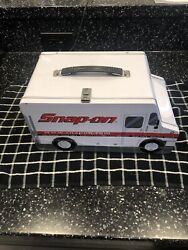 Snap On Tools Truck Metal Lunch Box. Basically New Collectible Old School.