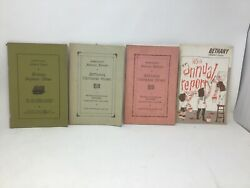 Bethany Orphans Home Womelsdorf Pa 1937- 1968 Annual Report Booklet Lot Of 4