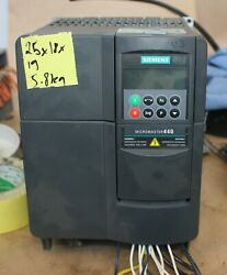 Siemens Micromaster 440 Variable Speed Drive E-stand 380-480v 11kw