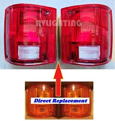 National Sea View 1998 1999 Rear Turn Signal Tail Light Lamps Rv - Pair