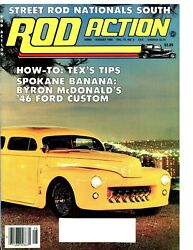 Street Rod Action August 1986--with 19241925192619271928193219411948 Ford