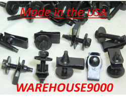 50 Fold Over Nuts 16322 And 50 Hex Head Sems Body Bolts W/ Dog Points 15818