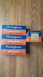 4 Boxes 10 Count Westinghouse Mazda Lamps Bulbs No. 1143 Headlights Spotlights
