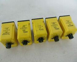 Potter And Brumfield On Release Adjustable Timer Relay 0.3 To 30 Sec. Cdb-38-70092