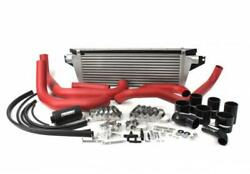 Perrin Fmic Red Boost Tubes W/ Black Silicon For 08-14 Wrx