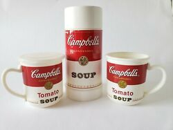 Campbell's Soup Aladdin Thermos And Microwave Soup Mug Cup