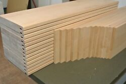 13 Steps Stairs Cladding System1 Beech Wood - Top Quality Hardwood