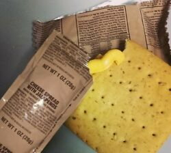 Mre Cheese Spread Variety Packs Cheddar, Jalapeno Or Bacon - 2020-21 Production