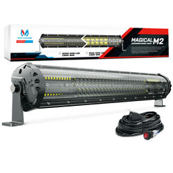 Mictuning M2 21inch 180w Quad-row Led Light Bar Offroad Driving Lamp 12680lm Car
