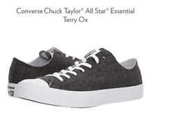 Converse Womenand039s 6 Chuck Taylor All Star Terry Cloth Low Top Sneaker Gray/black