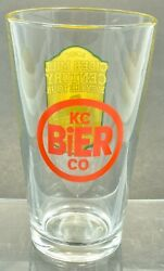 Kc Bier Company Beer Glass Louisburg Cider Mill Century Bicycle Tour