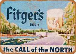 Metal Sign - Fitgerand039s Beer - Vintage Look Reproduction