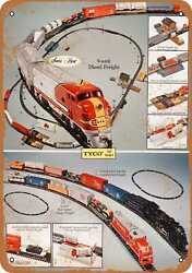 Metal Sign - 1971 Tyco Electric Toy Trains - Vintage Look Reproduction