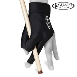 Kamui Billiard Pool Cue Glove - Quickdry - For Left Or Right Hand - Black