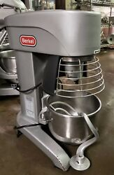 Berkel Fms10 - 10 Qt Commercial Planetary Mixer W/ Whip Bowl And Guard