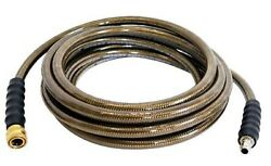 100andrsquo 3/8andrdquo 4500 Psi Simpson Pressure Washer Monster Hose Cold Water 41030 Quick